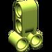 LEGO Lime Cross Block 2 X 3 with Four Pinholes (32557)