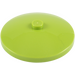 LEGO Lime Dish 4 x 4 with Solid Stud (3960)