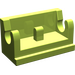 LEGO Lime Hinge 1 x 2 Base (3937)