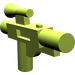 LEGO Lime Minifig Gun Short Blaster