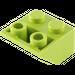 LEGO Lime Slope 45° 2 x 2 Inverted (3660)
