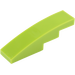 LEGO Lime Slope Curved 4 x 1 (11153 / 61678)