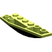 LEGO Lime Wedge 2 x 6 Double Inverted Right