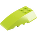 LEGO Lime Wedge 6 x 4 Triple Curved (43712)