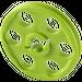 LEGO Lime Wedge Belt Wheel (4185 / 49750)