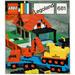 LEGO Low loader with 4 wheel excavator Set 681