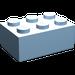 LEGO Maersk Blue Brick 2 x 3 (3002)