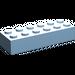 LEGO Maersk Blue Brick 2 x 6 (2456)