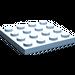 LEGO Maersk Blue Plate 4 x 4