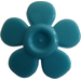 LEGO Medium Azure Flower with Smooth Petals (93080)