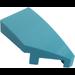 LEGO Medium Azure Wedge 1 x 2 Right (29119)