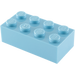 LEGO Medium Blue Brick 2 x 4 (3001)