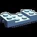 LEGO Medium Blue Car Mudguard 2 x 4 without Hole