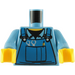 LEGO Medium Blue Minifig Torso with Overalls (76382)