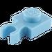 LEGO Medium Blue Plate 1 x 1 with Vertical Clip (Thin 'U' Clip) (60897)
