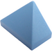 LEGO Medium Blue Slope 1 x 2 (45°) Triple with Inside Stud Holder (15571)