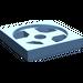 LEGO Medium Blue Turntable 2 x 2 Plate Base (3680)