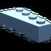 LEGO Medium Blue Wedge 2 x 4 Right