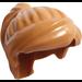 LEGO Medium Dark Flesh Minifigure Medium Ponytail with Long Bangs (18227 / 87990)