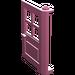LEGO Medium Dark Pink Door 1 x 4 x 5 with 4 Panes with 2 Points on Pivot (3861)