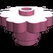 LEGO Medium Dark Pink Flower 2 x 2 with Open Stud (4728)