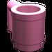 LEGO Medium Dark Pink Mug (3899)