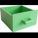 LEGO Medium Green Drawer (6198)