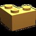 LEGO Medium Orange Brick 2 x 2 Corner (2357)
