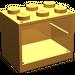 LEGO Medium Orange Cupboard 2 x 3 x 2 with Solid Studs (4532)