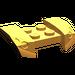 LEGO Medium Orange Mudguard with Overhanging Headlights 2 x 4 (44674)