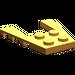 LEGO Medium Orange Wing 4 x 4 with 2 x 2 Cutout (43719)