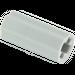 LEGO Medium Stone Gray Axle Connector (Smooth with 'x' Hole) (59443)