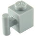 LEGO Medium Stone Gray Brick 1 x 1 with Handle (2921 / 28917)