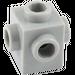 LEGO Medium Stone Gray Brick 1 x 1 with Studs on Four Sides (4733)
