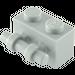 LEGO Medium Stone Gray Brick 1 x 2 with Handle (30236)