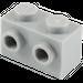 LEGO Medium Stone Gray Brick 1 x 2 with Studs on Opposite Sides (52107)