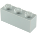 LEGO Medium Stone Gray Brick 1 x 3 (3622)
