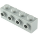 LEGO Medium Stone Gray Brick 1 x 4 with 4 Studs on One Side (30414)