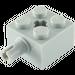 LEGO Medium Stone Gray Brick 2 x 2 with Pin and Axlehole (6232)
