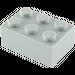 LEGO Medium Stone Gray Brick 2 x 3 (3002)