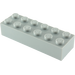 LEGO Medium Stone Gray Brick 2 x 6 (2456 / 44237)