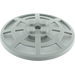 LEGO Medium Stone Gray Dish 6 x 6 Inverted Webbed Type 2 (Squared Holder Underneath) (4285)