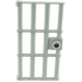 LEGO Medium Stone Gray Door 1 x 4 x 6 Barred (60621)