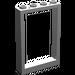 LEGO Mittleres Steingrau Frame 1 x 4 x 5 mit hohlen Bolzen (2493)