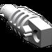 LEGO Medium Stone Gray Hinge Arm Locking with Single Finger and Friction Pin
