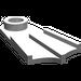 LEGO Medium Stone Gray Minifig Flipper