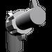 LEGO Medium Stone Gray Minifig Gun Revolver
