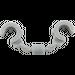 LEGO Medium Stone Gray Minifig Handcuffs (61482 / 91795 / 97927)
