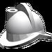 LEGO Medium Stone Gray Minifig Helmet Morion