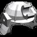 LEGO Medium Stone Gray Minifig Helmet Samurai (30175)